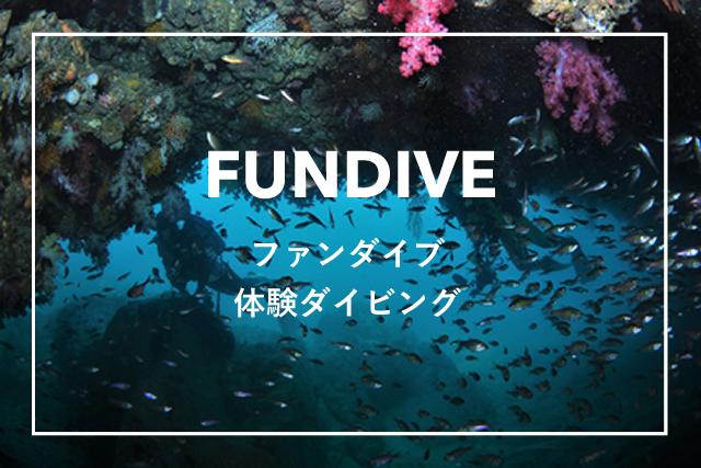 ファンダイブ・体験ダイビング